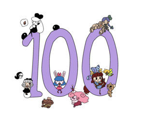 100 Followers on Tumblr Collage