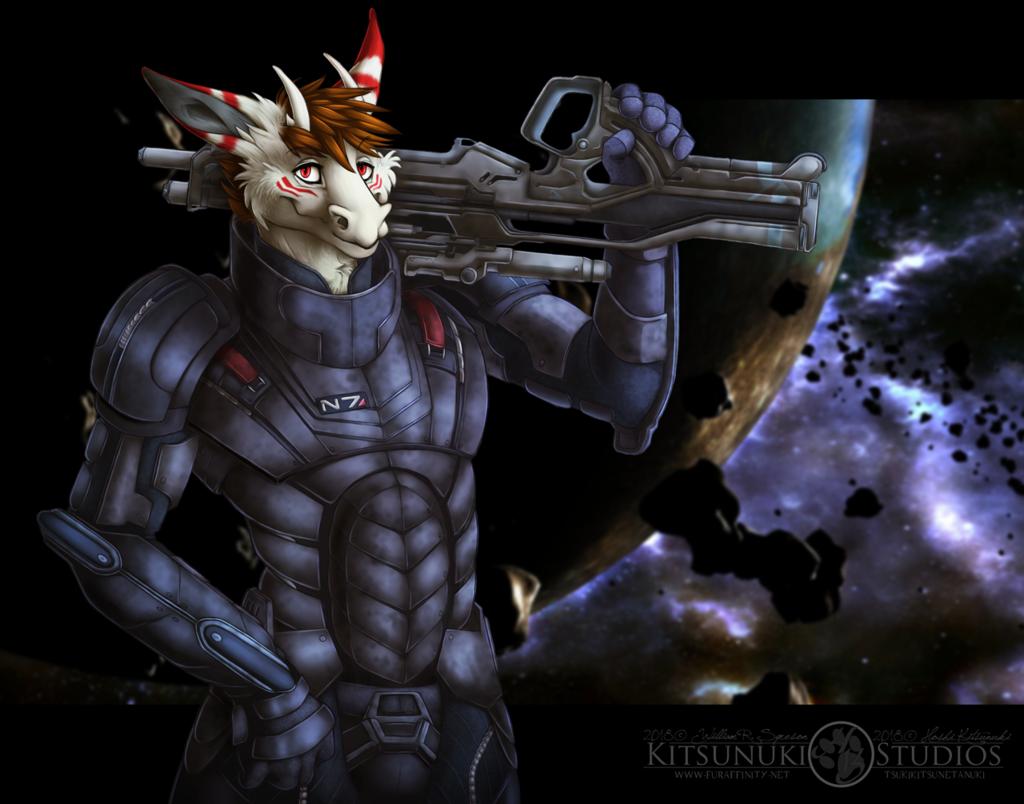 Commission: ~ Mass Effect Felan ~