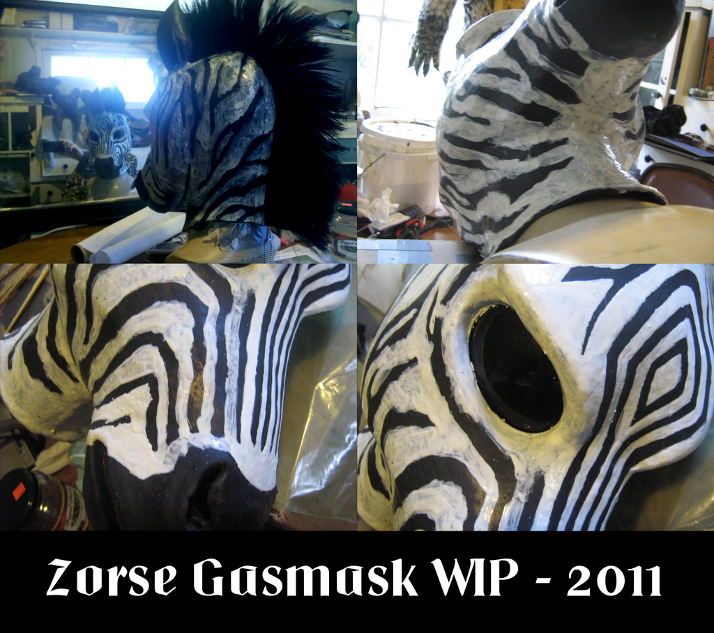 WIP 02 - Zorse Gas Mask (from Wildgasmasks)