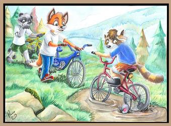 Timothy's Training Wheels