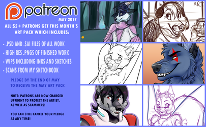 [May Preview] Patreon!
