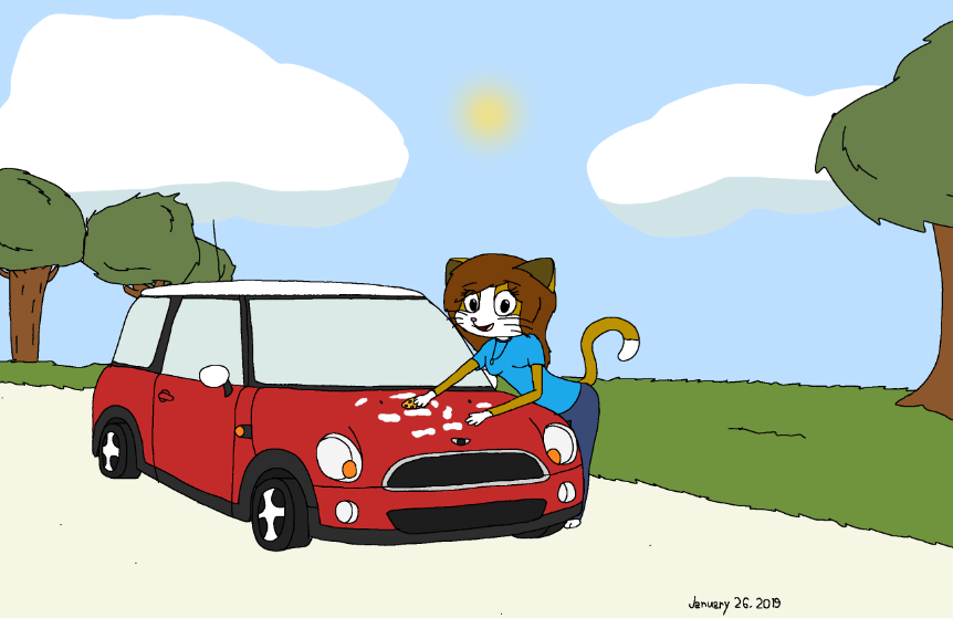The Little Red Car
