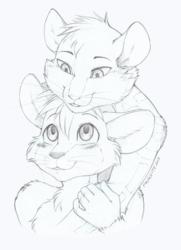 [CM] Bust Sketch Simon & Zen