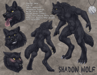 ShaDoW WolF's New Ref Sheet [1/2]