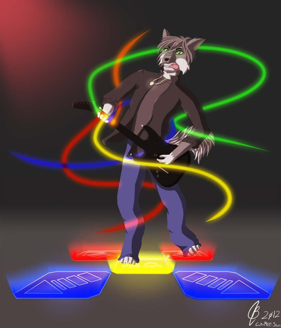 Rock your body to the beat - Commish for Hish (FA)