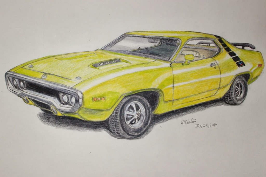 Most recent image: 1971 Plymouth Roadrunner -commission-