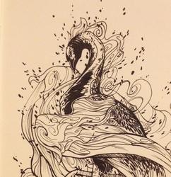 Inktober 7: Sinbird