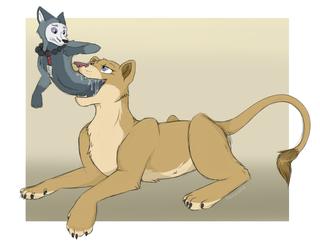 The Lion's Catch