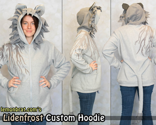 Lidenfrost Custom Hoodie