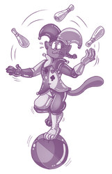 Commission - Juggling
