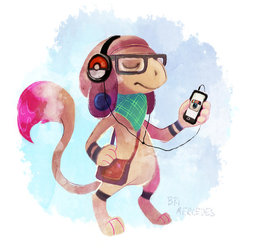 Hipster Smeargle