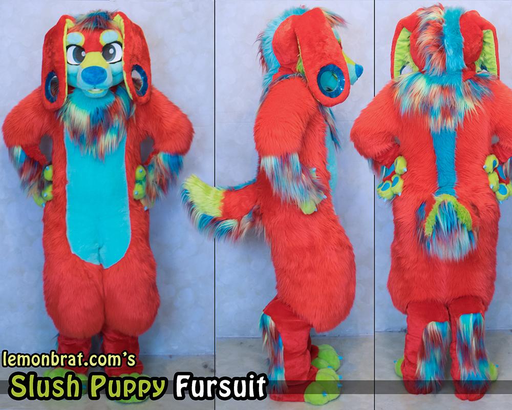 Slush Puppy Custom Fursuit