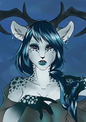 Deer Girl WIP