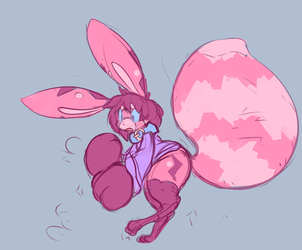 Squishy Strawberry Jamcat?! [Art by Nystre]