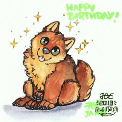 Chibi - Happy Birthday, TakeruWolf!