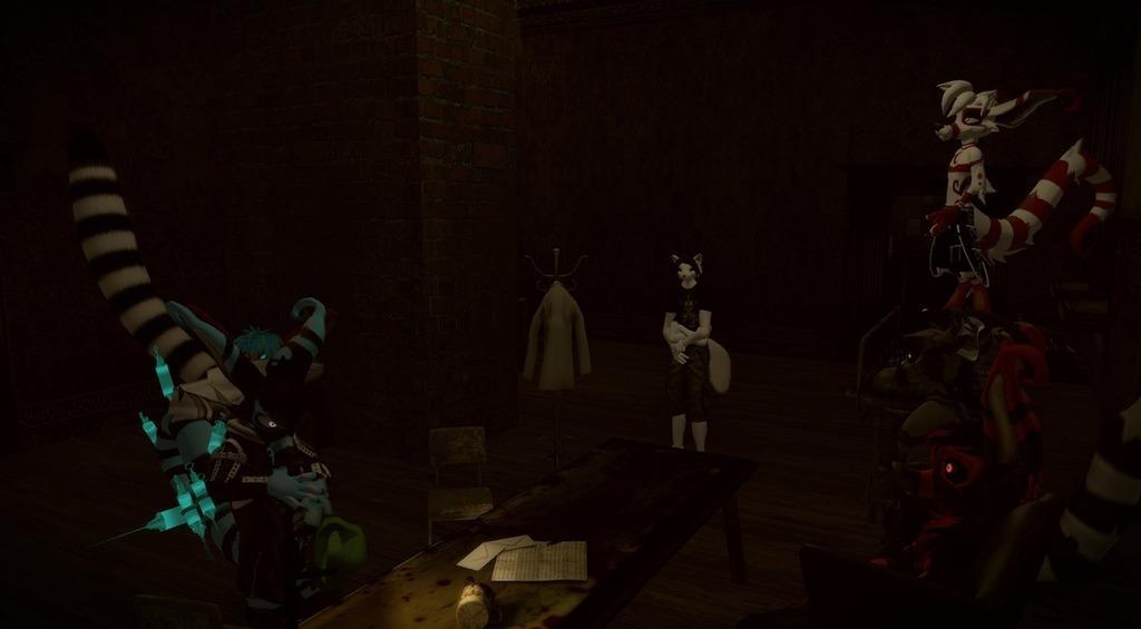 reunion in the dark