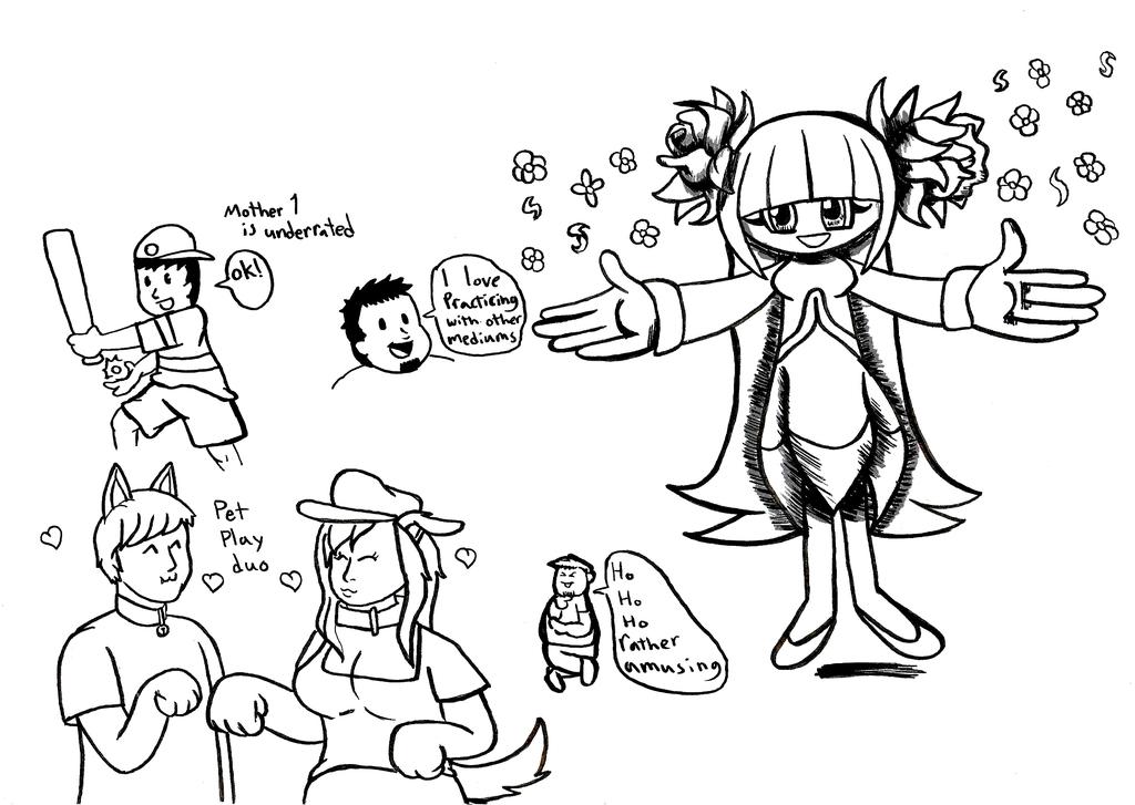 Mugi Draws Cosmo Transformed