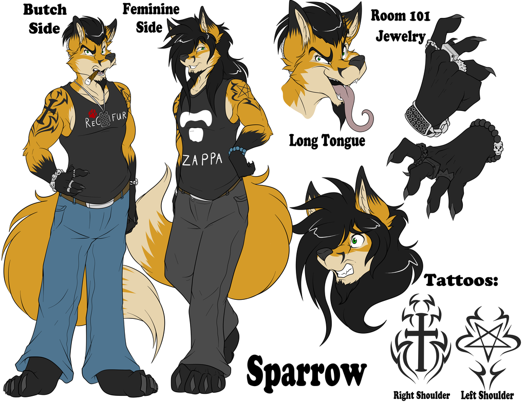 Most recent image: Sparrow 2018 Ref Sheet