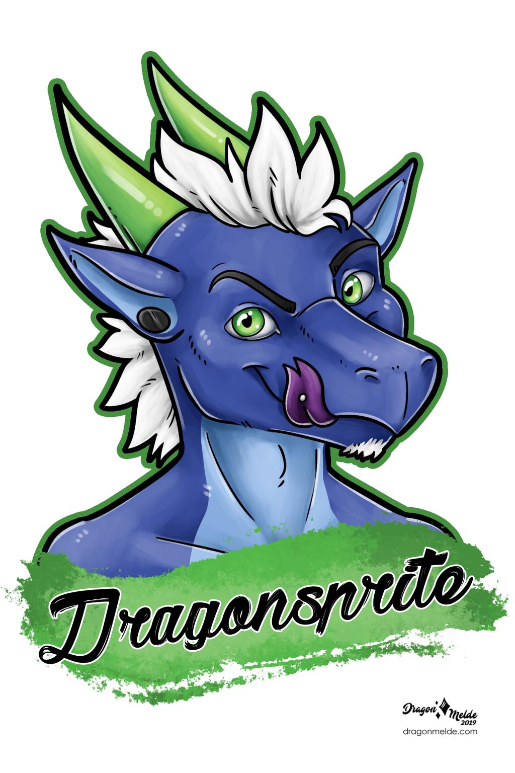 Dragonsprite Badge
