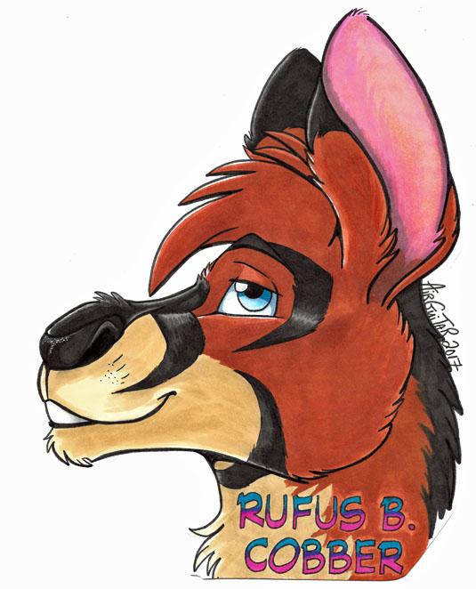Headshot Badge - Rufus B.Cobber