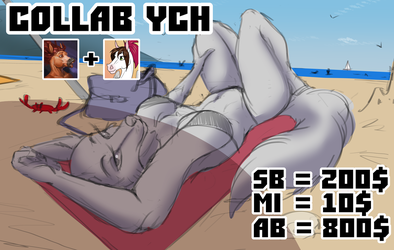 Collab YCH with Conqista