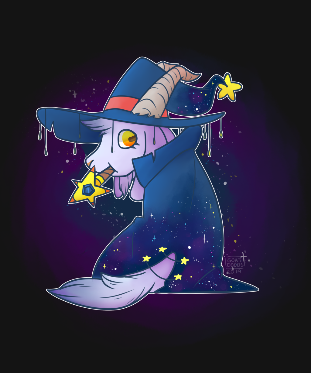 Space Wizard Goat