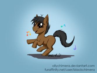 Commission - Dancing Cocoa Mocha