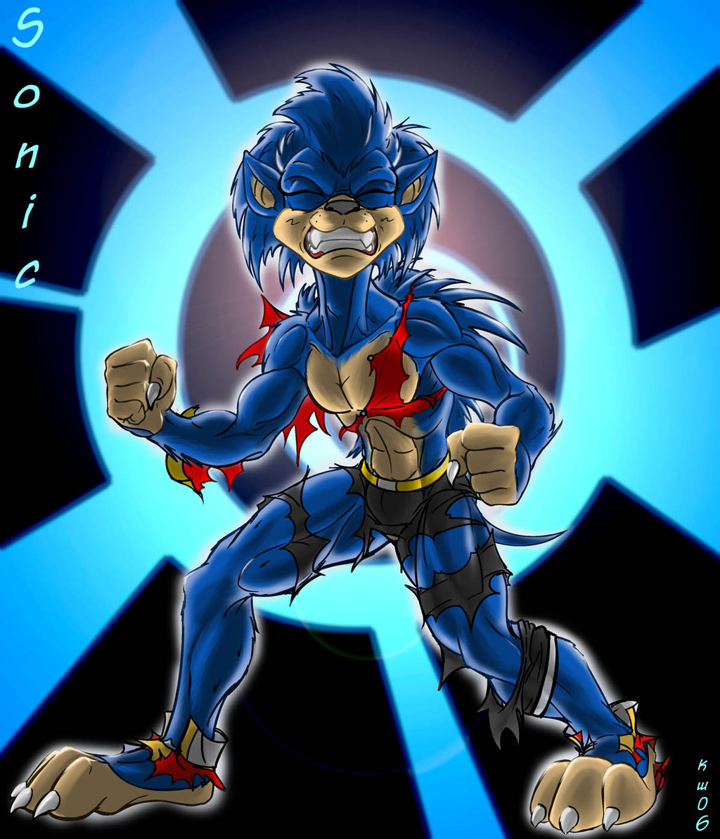 Sonic Dude - by Blackrat
