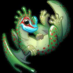 Dragon gecko de Manapany