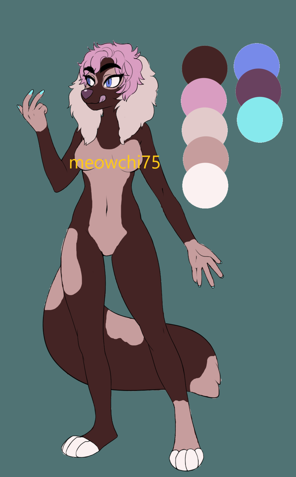 SOLD Strawberry Chocolate Pup Adopt
