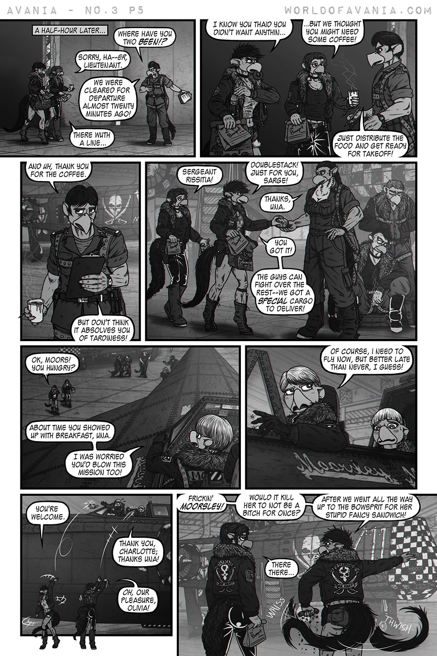 Avania Comic - Issue No.3, Page 5