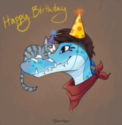 Happy birthday, yo!