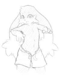 Touch Fluffy Chest (solo)