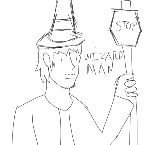 Most recent image: I am the wizard