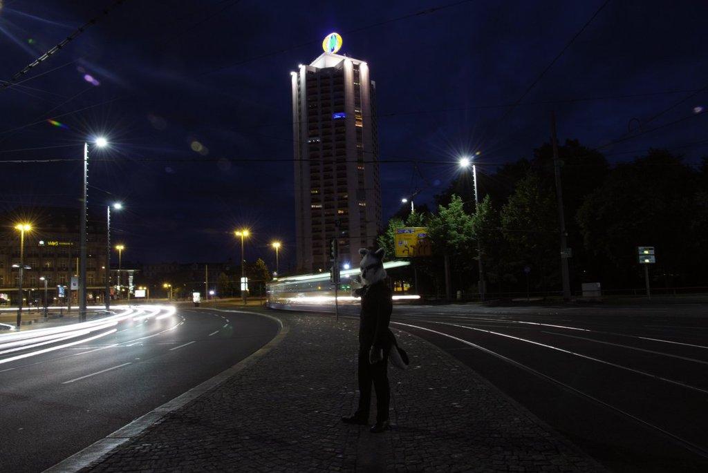 Leipzig city center