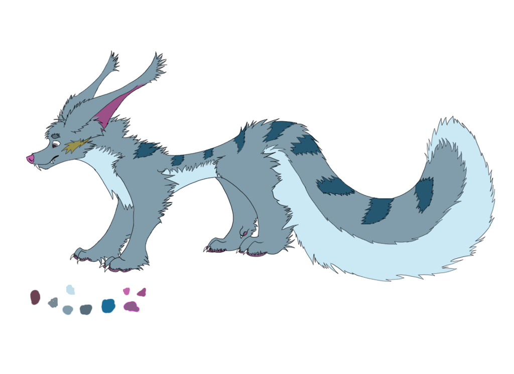 Coloring of Doxial's Thing