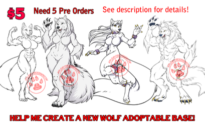 New Wolf Adoptable Base