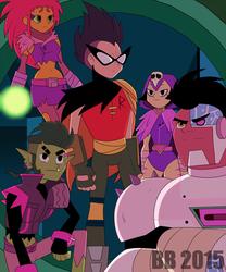 Teen Titans Night