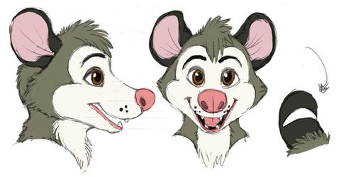 Juniper Opossum Concept Art