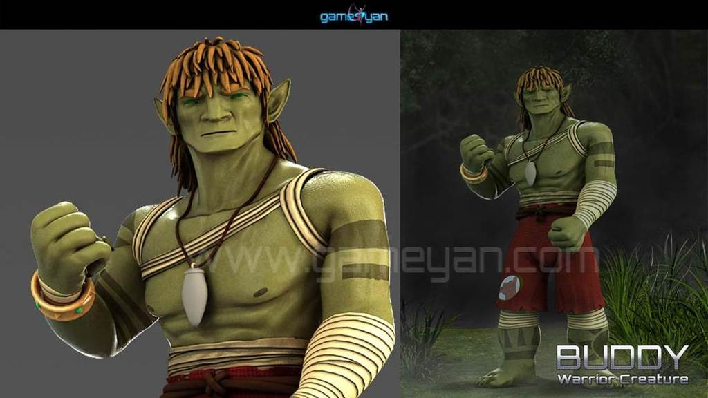 Creature Character Modeling Animation