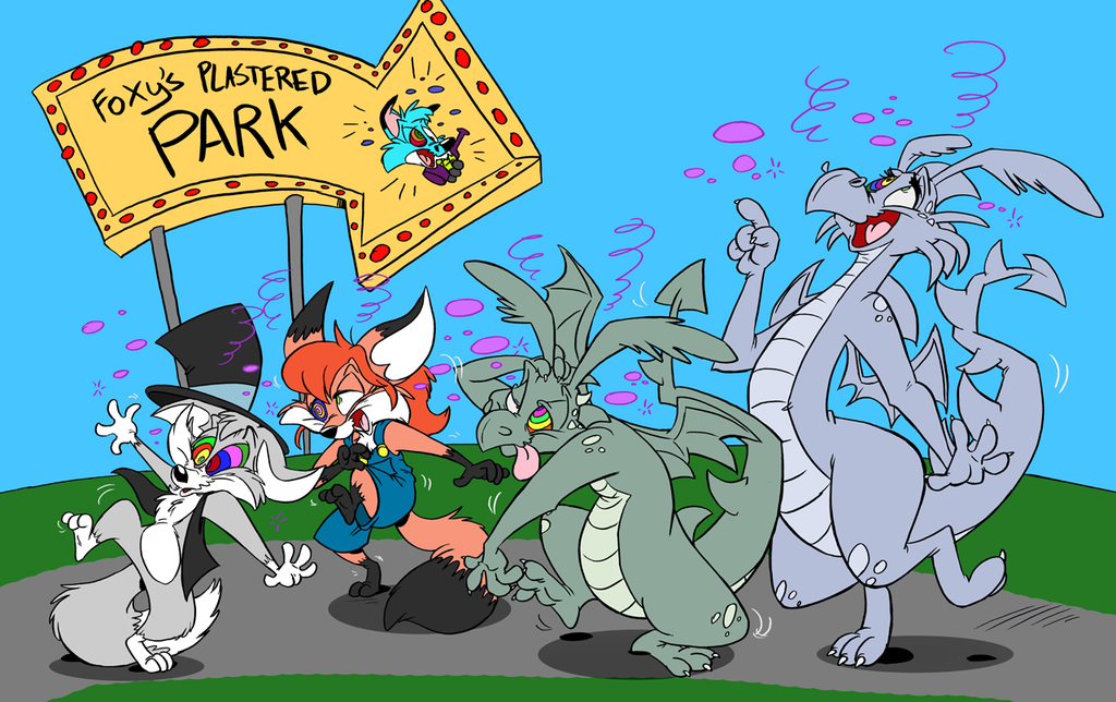 Foxy's Plastered Park - color