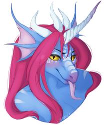 C: Syldria bust, looking a bit mischievous
