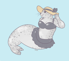 COMMISSION: pinup seal