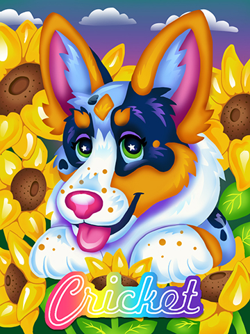 Lisa Frank Badge