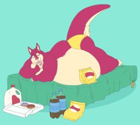 Snacks in Bed