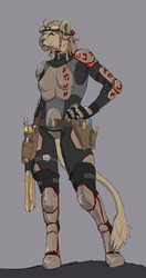 Touea, Aslan Traveller (Commission)