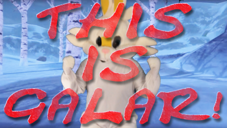 """Mascot Fursuiting: Ace Spade the Pikachu vs Anthro Scorbunny, """"THIS IS GALAR!"""""""