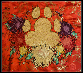 Paw Embroidering