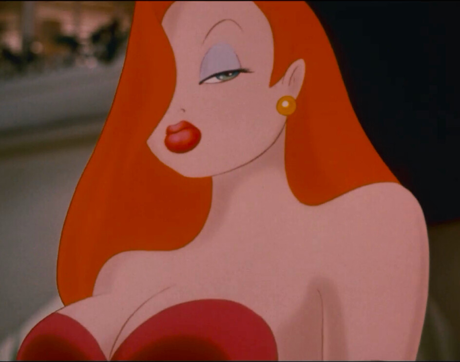 Stylised Jessica Rabbit Model