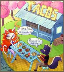 Dia de tacos - Commission
